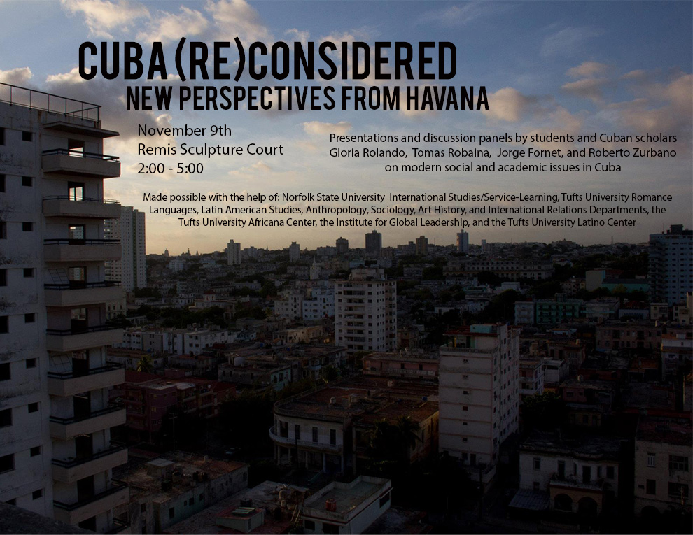 Cuba Reconsidered, Tufts University